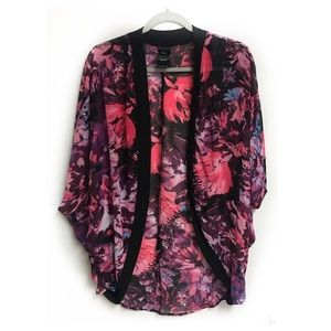 Catalina Floral Swim Cover Up